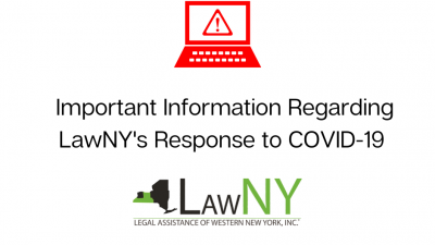 Important Information Regarding LawNY and COVID-19