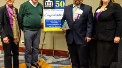 Pro Bono Attorney Recognized For Outstanding Service